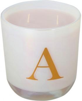 Alphabet-Fragrant-Candle-A on sale