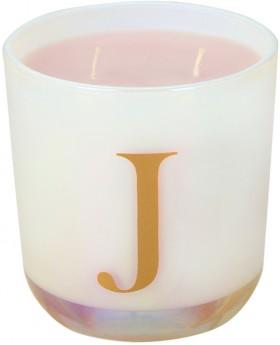 Alphabet-Fragrant-Candle-J on sale