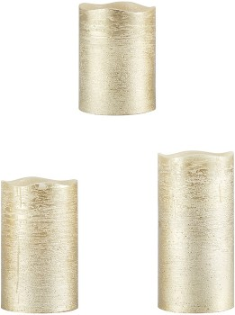 3-LED-Gold-Look-Candles on sale