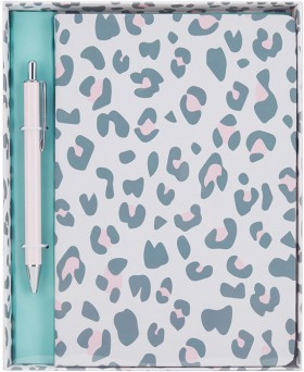 Leopard-Notebook-Gift-Pack on sale