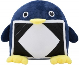 Plush-Tablet-Cushion-Blue on sale