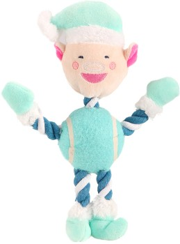 Rope-and-Ball-Elf-Pet-Toy on sale