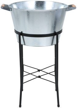 Galvanised-Party-Stand on sale