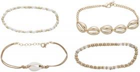 Shell-Charm-Multi-Bracelet-Pack on sale