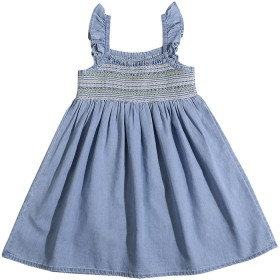 Kids-Chambray-Dress on sale