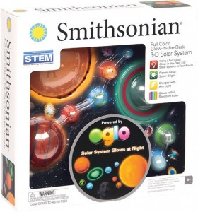 Smithsonian-Glow-in-the-Dark-3D-Solar-System on sale