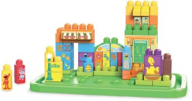 NEW-Mega-Bloks-Sesame-Street-Tub-Town on sale