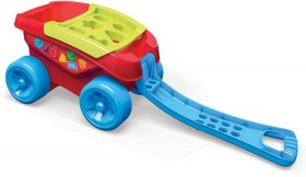 Mega-Bloks-Shape-Sorting-Wagon on sale