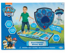 Paw-Patrol-Dance-Mat-Blue on sale
