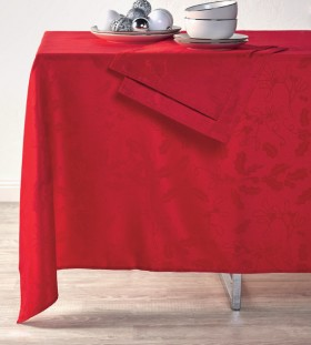 Christmas-Jacquard-Tablecloth on sale