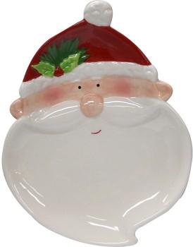 Hot-Topic-Ceramic-Santa-Plate on sale
