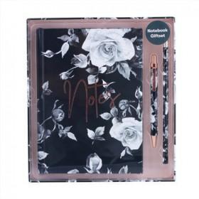 Notebook-Gift-Set-Black on sale