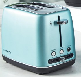 NEW-Kambrook-Perfect-Slice-2-Slice-Toaster-Ice-Green on sale