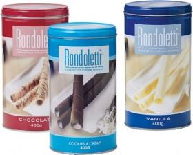 Rondoletti-Wafer-Varieties-400g on sale