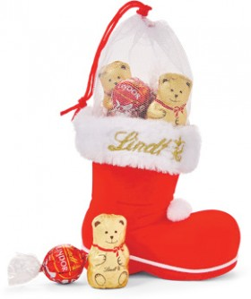 Lindt-Santa-Boot on sale