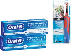 12-Price-on-Selected-Oral-B-Products on sale
