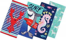 Wave-Zone-Terry-Beach-Towels on sale