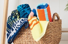 Wave-Zone-Terry-Jacquard-Beach-Towels on sale