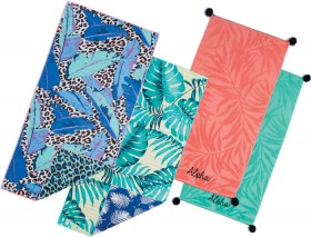 Wave-Zone-Assorted-Sand-Off-or-Pom-Pom-Velour-Beach-Towels on sale