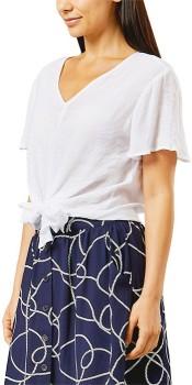 Me-Tie-Front-Blouse on sale