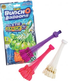 Zuru-Bunch-O-Balloons-100-Pack-Water-Balloons on sale