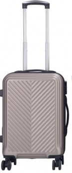 NEW-Swiss-Alps-Beijing-Gold-Cabin-Approved-Hard-Luggage-8WD-57.5cm on sale