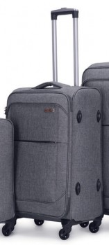 NEW-Swiss-Alps-Milan-Soft-Luggage-4WD-66cm on sale