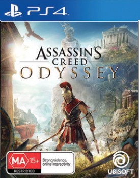 PS4-Assassins-Creed-Odyssey on sale