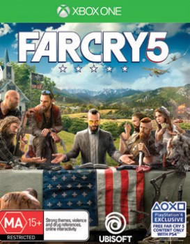 Xbox-One-Far-Cry-5 on sale