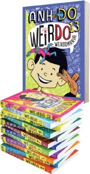 WeirDo-Series-Books on sale