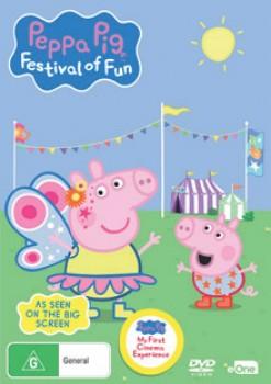 NEW-Peppa-Pig-Festival-Of-Fun-DVD on sale