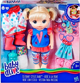 Baby-Alive-So-Many-Styles on sale