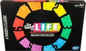 NEW-Game-of-Life-Quarter-Life-Crisis-Board-Game on sale