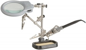 Third-Hand-with-LED-Magnifier on sale