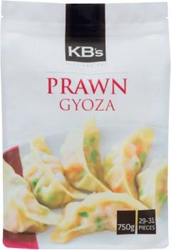KBs-Prawn-Gyoza-750g on sale