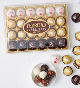 Ferrero-Rocher-30-Pack-375g-or-Collection-Chocolate-Gift-Box-24-Pack-269g on sale