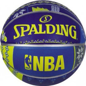 Spalding-NBA-Ugly-Sweater-Basketball-Warriors on sale