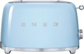 Smeg-50s-Retro-Style-2-Slice-Toaster-Blue on sale