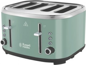 Russell-Hobbs-Legacy-4-Slice-Toaster-Green on sale