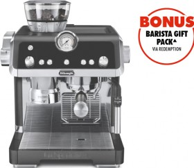 DeLonghi-La-Specialista-Coffee-Machine-Titanium on sale