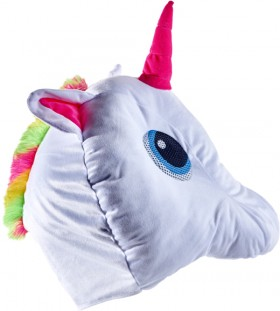 Unicorn-Plush-Mask on sale
