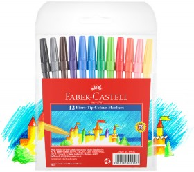 Faber-Castell-Project-Markers-12-Pack on sale
