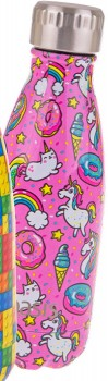 Oasis-SS-Insulated-Drink-Bottle-350ml-Unicorns on sale