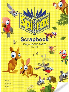 Spirax-150-Scrapbook-64-Page on sale