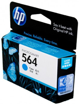 HP-564-Cyan-Ink-Cartridge on sale