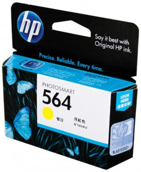 HP-564-Yellow-Colour-Ink on sale