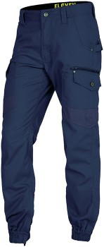 ELEVEN-Workwear-Combat-Stove-Pipe-Cargo-Pants on sale