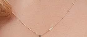 9ct-Gold-48cm-Beaded-Chain on sale