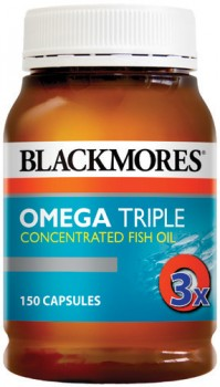 Blackmores-Omega-Triple-Concentrated-Fish-Oil-150-Capsules on sale