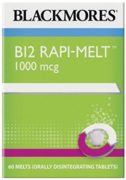 Blackmores-B12-Rapi-Melt-1000-mcg-60-Melts on sale